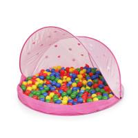 Tent Pink Stan na pláž s loptami - Ružový Inlea4Fun