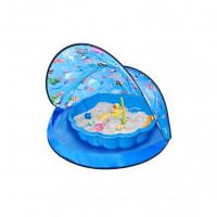 Tent Blue Stan na pláž a pieskovisko - Modré Inlea4Fun
