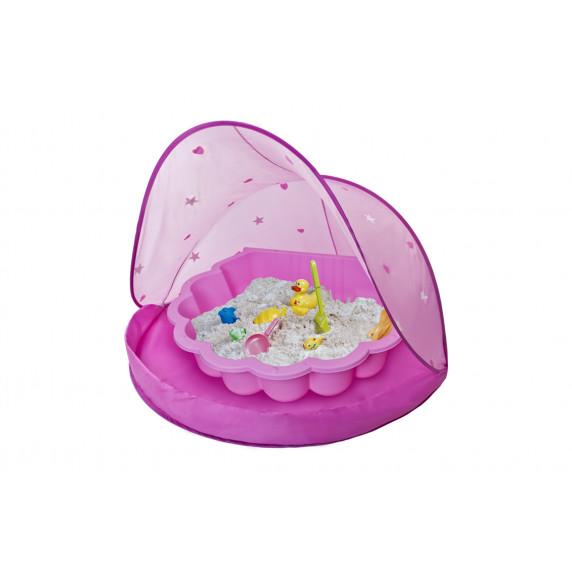 Tent Blue Stan na pláž a pieskovisko - Ružové Inlea4Fun