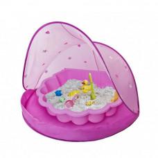 Tent Blue Stan na pláž a pieskovisko - Ružové Inlea4Fun Preview
