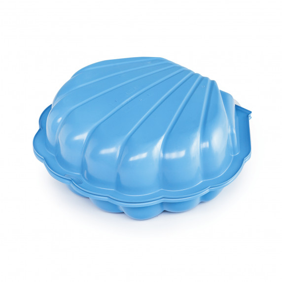 Dvojstranné pieskovisko v tvare mušle MAXI - Modré Inlea4Fun