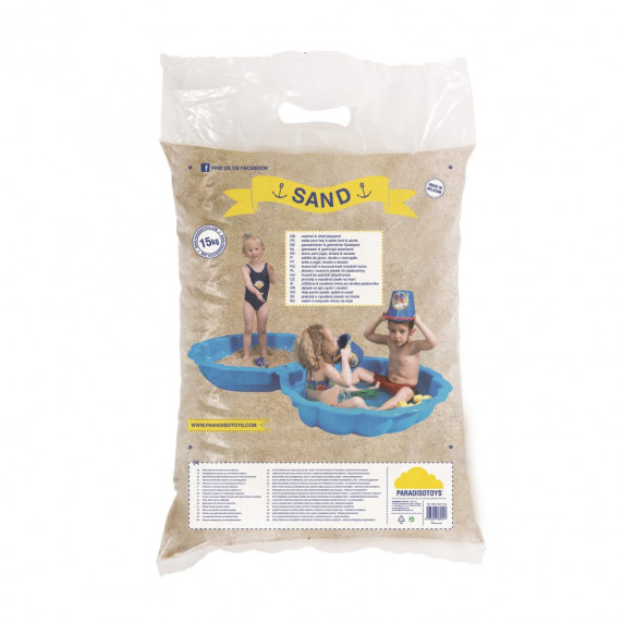 Piesok do detského pieskoviska 20 kg Inlea4Fun