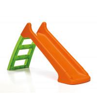 Šmykľavka s prípojkou na vodu - oranžová Inlea4Fun