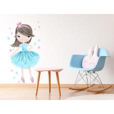 Dekorácia na stenu CHARACTERS Princess - Princezná modrá Preview