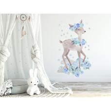 Dekorácia na stenu SECRET GARDEN Roe - Srnka modrá Preview