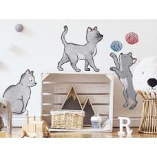 Dekorácia na stenu ANIMALS Cats - Mačičky Preview