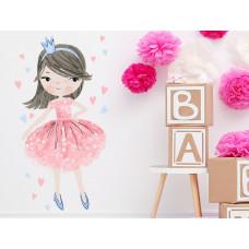 Dekorácia na stenu CHARACTERS Princess - Princezná ružová Preview
