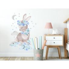 Dekorácia na stenu SECRET GARDEN Rabbit - Zajačik modrý Preview