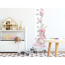 Mierka vzrastu SECRET GARDEN Rabbit - Zajačik ružový Preview