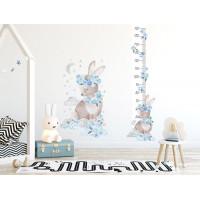 Mierka vzrastu SECRET GARDEN Rabbit - Zajačik modrý