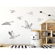 Dekorácia na stenu ANIMALS Geese - Husy Preview