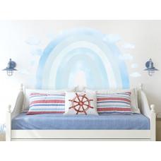 Dekorácia na stenu RAINBOW - Dúha - modrá Preview