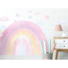 Dekorácia na stenu RAINBOW - Dúha - ružová Preview