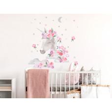 Dekorácia na stenu SECRET GARDEN Unicorn - Jednorožec ružový Preview