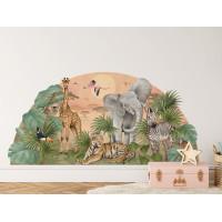 Dekorácia na stenu SAFARI 161 x 79 cm