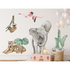 Dekorácia na stenu SAFARI ANIMALS I Preview