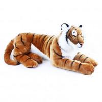Veľký ležiaci plyšový tiger 92 cm