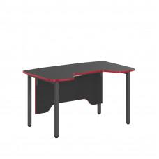 SKYLAND Skill Písací stôl 7049346 - antracitový s červeným lemom Preview