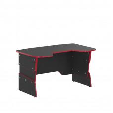 SKYLAND Skill písací stôl 7055550 - Antracitový s červeným lemom Preview