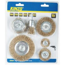 Sada brúsnych kotúčov KINZO, 30,37,48,55,73,95 mm Preview