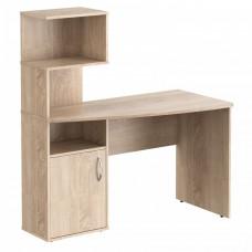 Písací stôl s policami 120 x 60 x 135 cm TAIPIT Comp - Sonoma Oak light Preview