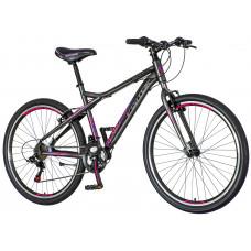 """Dámsky horský bicykel AURORA 26""""/18"""" AUR 266 - sivo-fialovo-ružový Preview"""