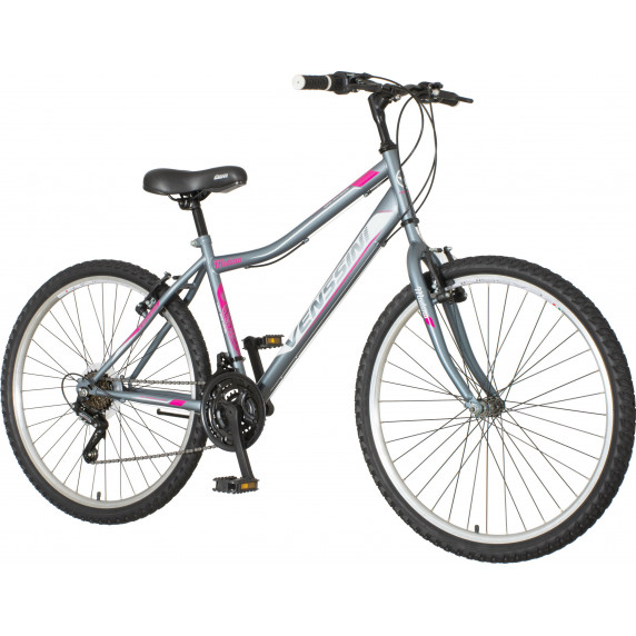 """Dámsky bicykel Venssini Modena 26""""/17"""" MOD264 - sivo-ružová"""