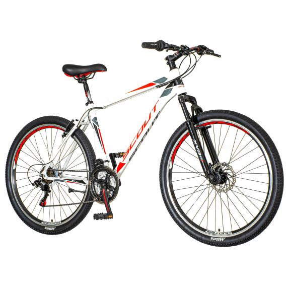 """Pánsky bicykel Visitor Hunter 27""""/19"""" HUN271AM - sivo - červený"""
