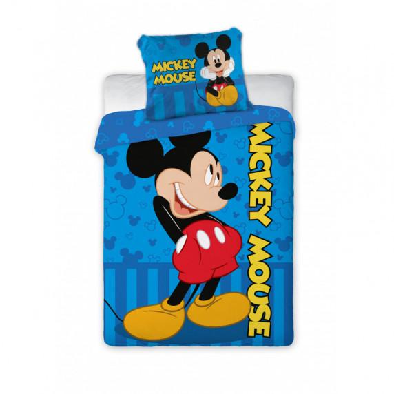 Detské posteľné obliečky Mickey Mouse 100 x 135 cm