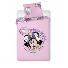 Detské posteľné obliečky Minnie Mouse - jednorožec 140 x 200 cm Preview