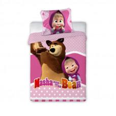 Detské posteľné obliečky Máša a Medveď 135x100 cm Preview