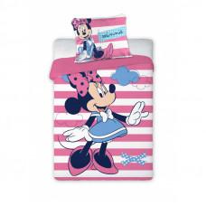 Detské posteľné obliečky Minnie Mouse - pruhovaný 135 x 100 cm Preview