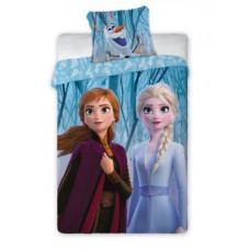 Detské posteľné obliečky Frozen - Anna a Elza 140 x 200 cm Preview