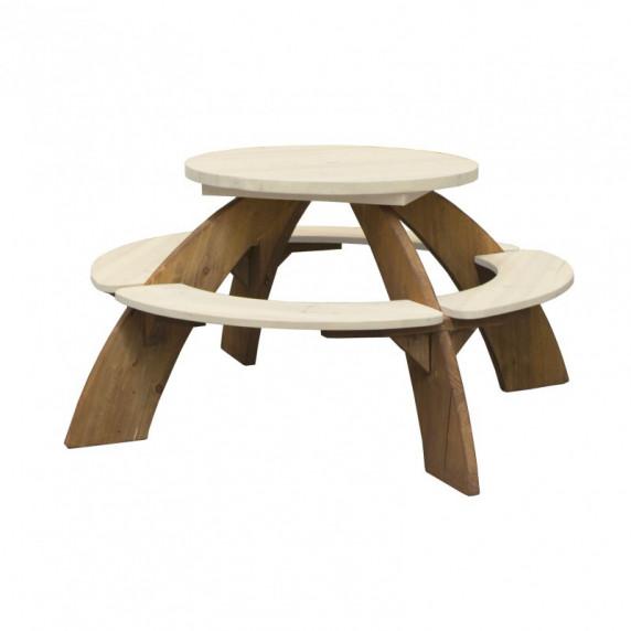 Axi Detský piknikový stôl so slnečníkom ORION