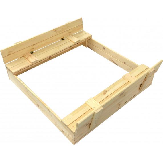 Aga4Kids Detské drevené pieskovisko 120 cm