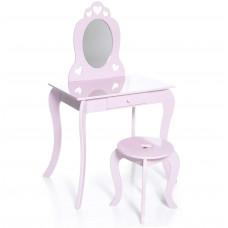 Aga4Kids Detský toaletný stolík MRDTC01P - ružový Preview