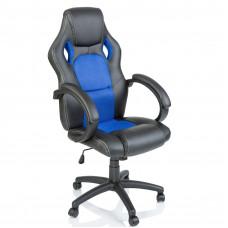 Kancelárske kreslo Tresko Racing RS-014 - čierne-modré Preview