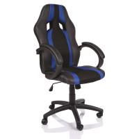Kancelárske kreslo Tresko Racing RS020 - čierno-modré