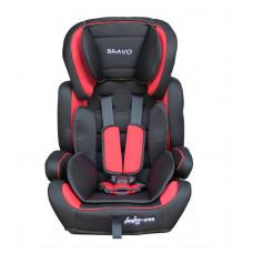 Baby Coo autosedačka BRAVO 2018 Black Red Preview