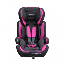 Baby Coo autosedačka BRAVO 2018 Black Pink Preview