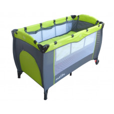 Cestovná postieľka Baby Coo Malibu Plus - Green Preview
