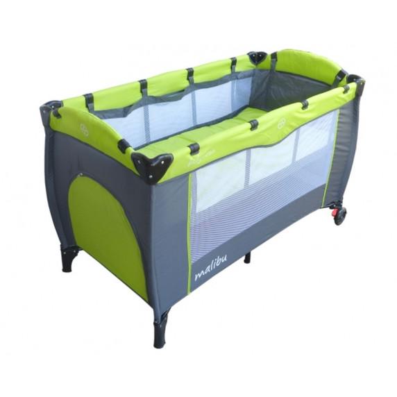 Cestovná postieľka Baby Coo Malibu Plus - Green