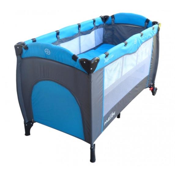 Cestovná postieľka Baby Coo Malibu Plus - Blue