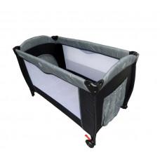 Cestovná postieľka Baby Coo Malibu Comfort - Grey Preview