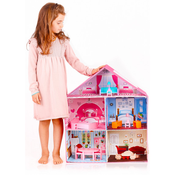 Aga4Kids Domček pre bábiky LISA