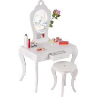 Detský toaletný stolík MRDTC02W Aga4Kids - biely