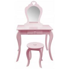 Aga4Kids Detský toaletný stolík MRDTC02P - ružový Preview
