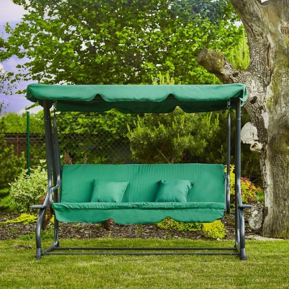 Aga záhradná hojdačka 2v1 GRANDLUX Dark Green