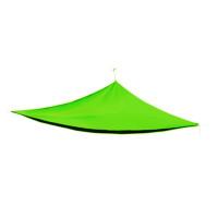 AGA trojuholníková záhradná tieniaca plachta 3 x 3 x 3 m Apple Green