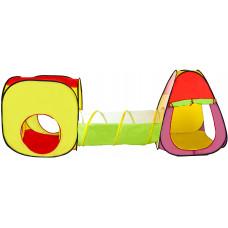 Detský hrací stan so spojovacím tunelom Aga4Kids ST-030 - farebné Preview